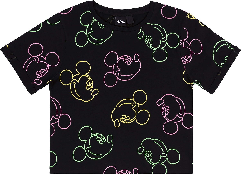 Top Mickey Mouse Disney Camiseta Negra