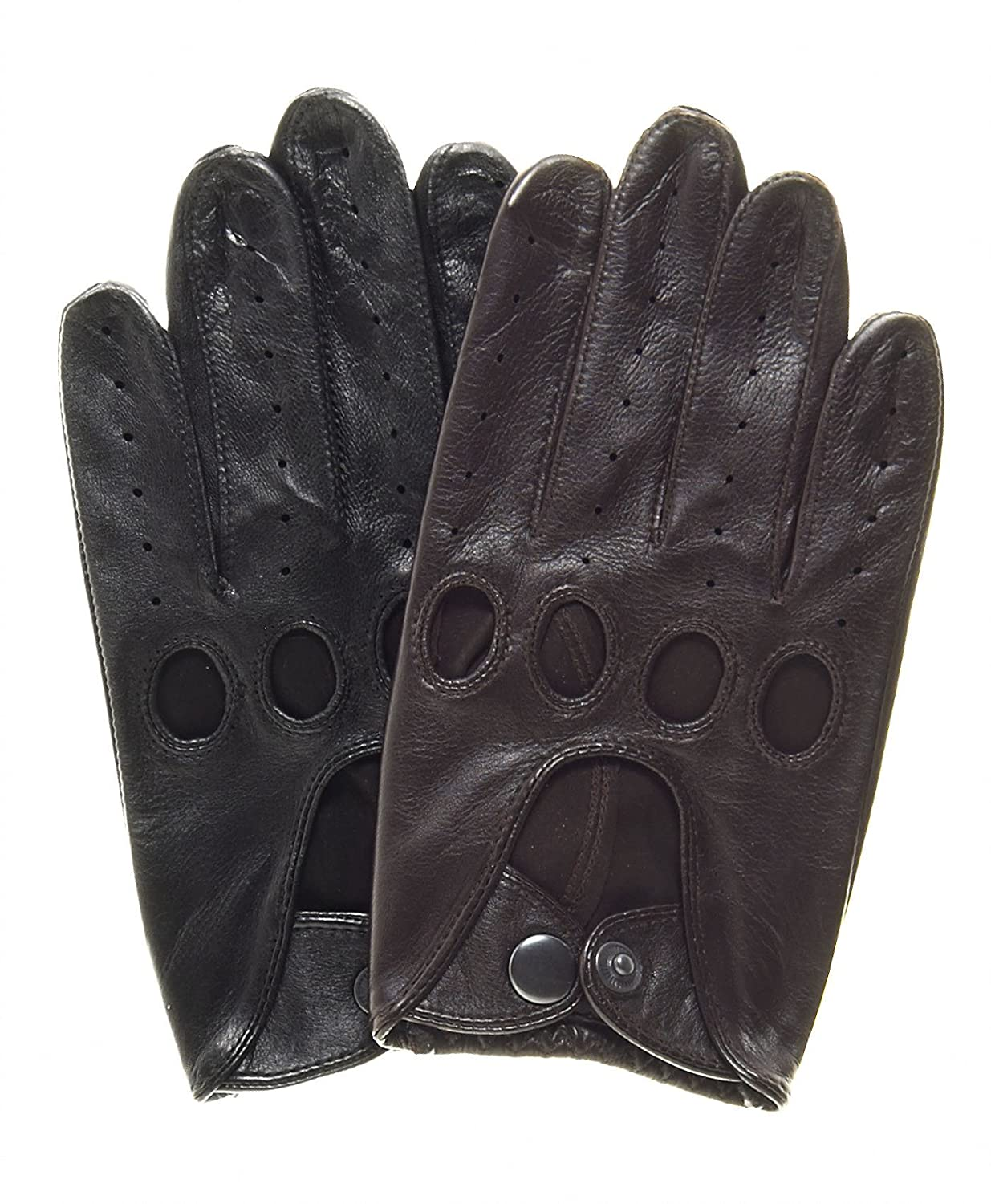 Leather gloves that work with iphone - Pratt And Hart Touchscreen Leather Driving Gloves Size S Color Black At Amazon Men S Clothing Store