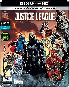Justice League (STEELBOOK) (4K + 3D + Blu-ray) (3 Disc)