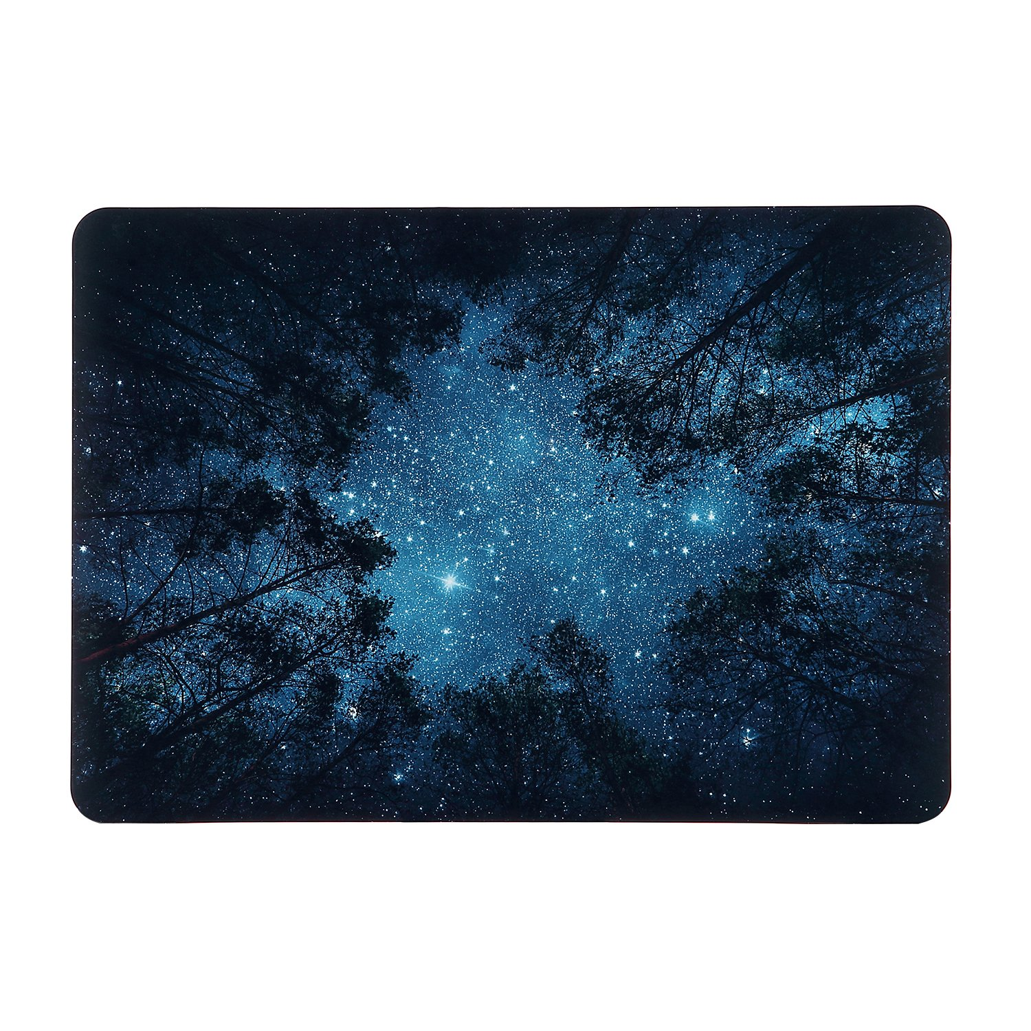 iDonzon Forest Starry MacBook Air 13 inch Case, Soft-Touch Matte Plastic Hard Protective Case Cover Only for MacBook Air 13.3 inch (Model: A1369 & A1466)