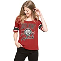 South Sydney Rabbitohs Women's '47 Coed Tee, Red