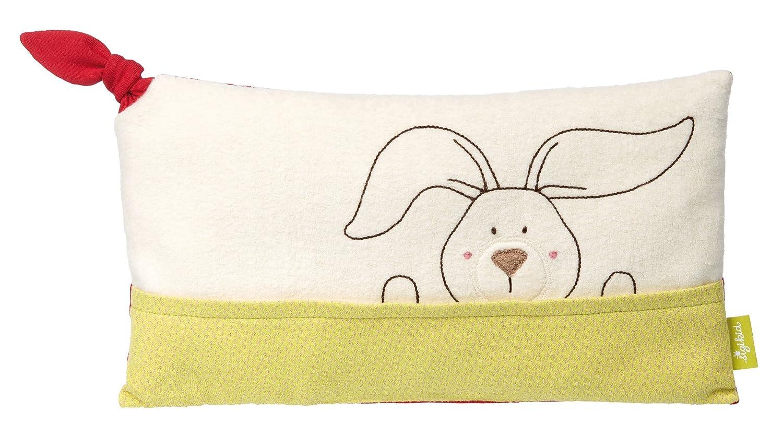 Greifling Hase Mehrfarbig M/ädchen und Jungen 41795 sigikid Green Collection