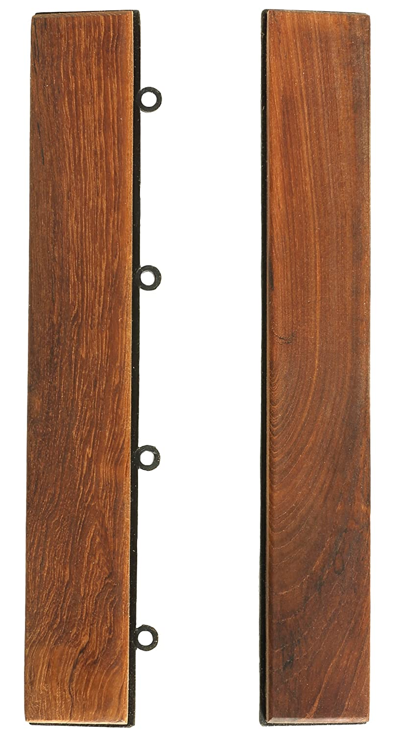 Bare decor ez floor end trim piece interlocking flooring for Wood floor pieces