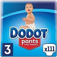 Dodot Pants Pañal-Braguita Talla 3, 111 Pañales, Fácil