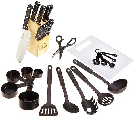 Amazon.com: MasterChef 29-Piece cuchillo Juego de utensilios ...