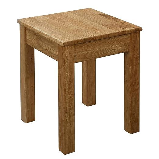 Tavolo da pranzo Tomas in legno di rovere 100/% FSC 75x50x75cm