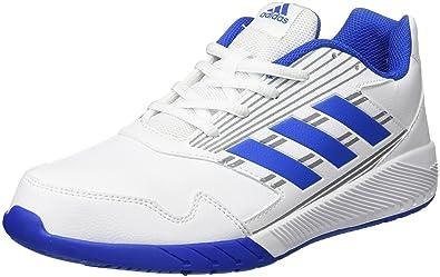 adidas Unisex-Kinder AltaRun CF K Laufschuhe, Weiß (Footwear White/Blue/Mid Grey), 36 EU