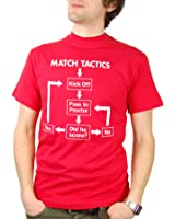 Balcony Shirts 'Match Tactics - Pass to Proctor' Mens Funny Football T Shirt