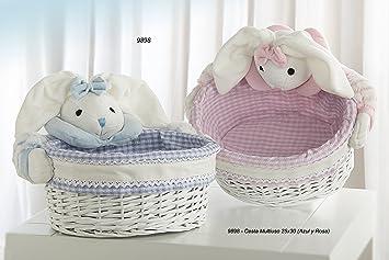 cestas mimbre bebe