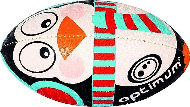 OPTIMUM Navidad Pingüino – Balón de Rugby, Multicolor: Amazon ...