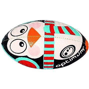 OPTIMUM Navidad Pingüino - Balón de Rugby, Multicolor: Amazon.es ...