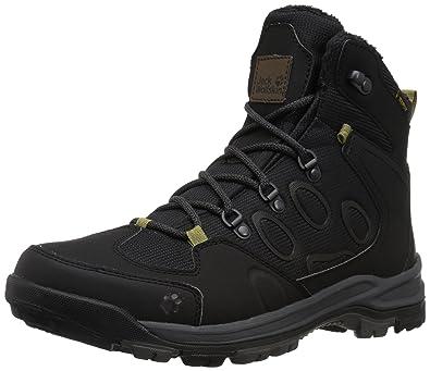 aa34b90dbf8 Jack Wolfskin Men's Cold Terrain Texapore MID M Fashion Boot Black 9 ...
