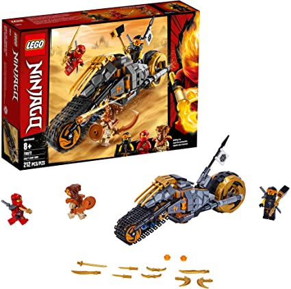 Amazon.com: LEGO NINJAGO Coles Dirt Bike 70672 Building Kit ...