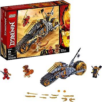 Amazon.com: LEGO Ninjago Coles Dirt Bike 70672 Kit de ...
