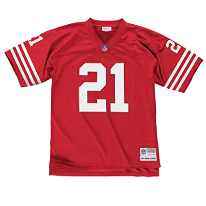 brand new f58a8 ade28 Mitchell & Ness Deion Sanders 1994 San Francisco 49ers Home Red Legacy  Jersey