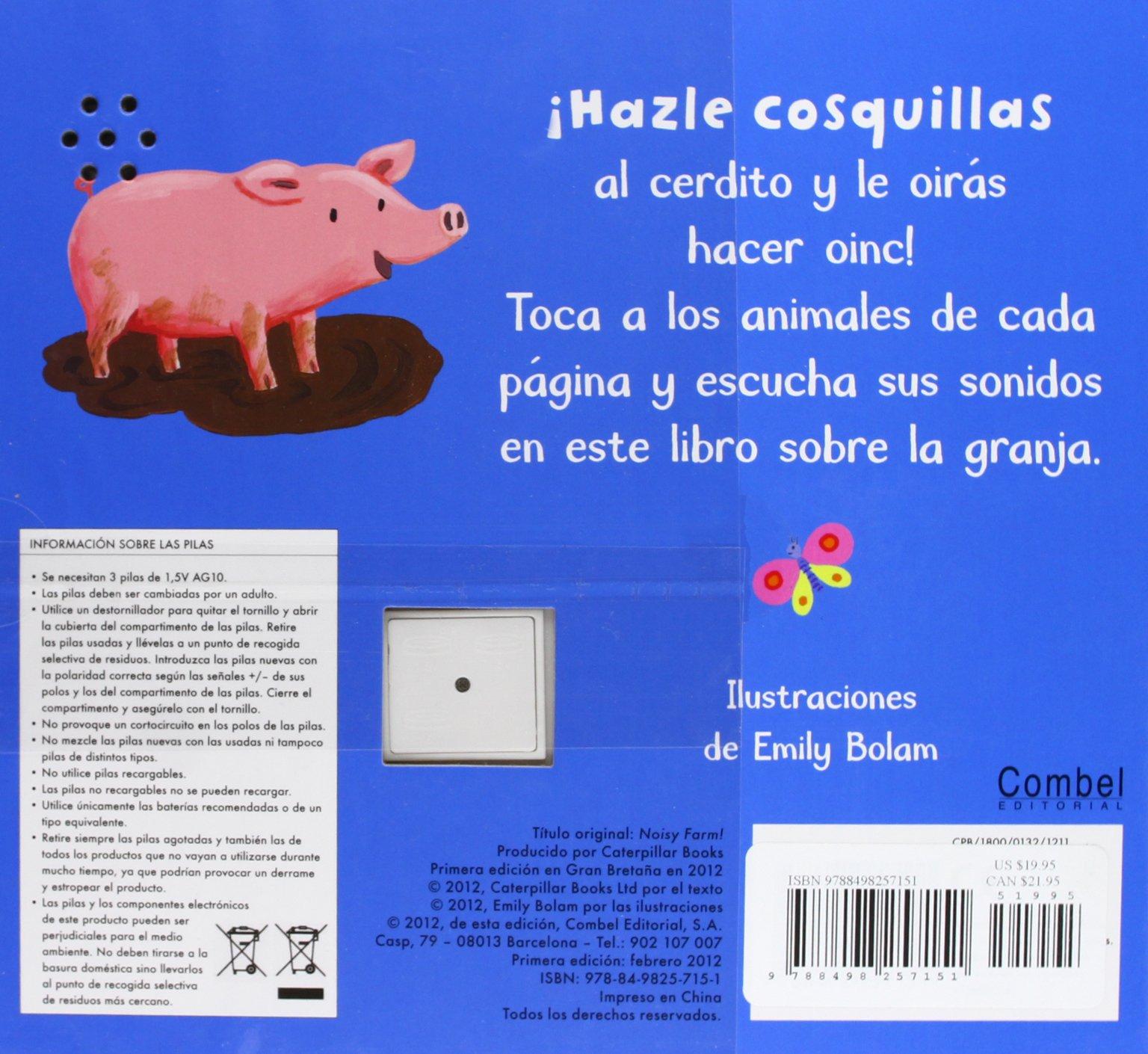 Los sonidos de la granja (Los sonidos de los animales) (Spanish Edition): Emily Bolam: 9788498257151: Amazon.com: Books
