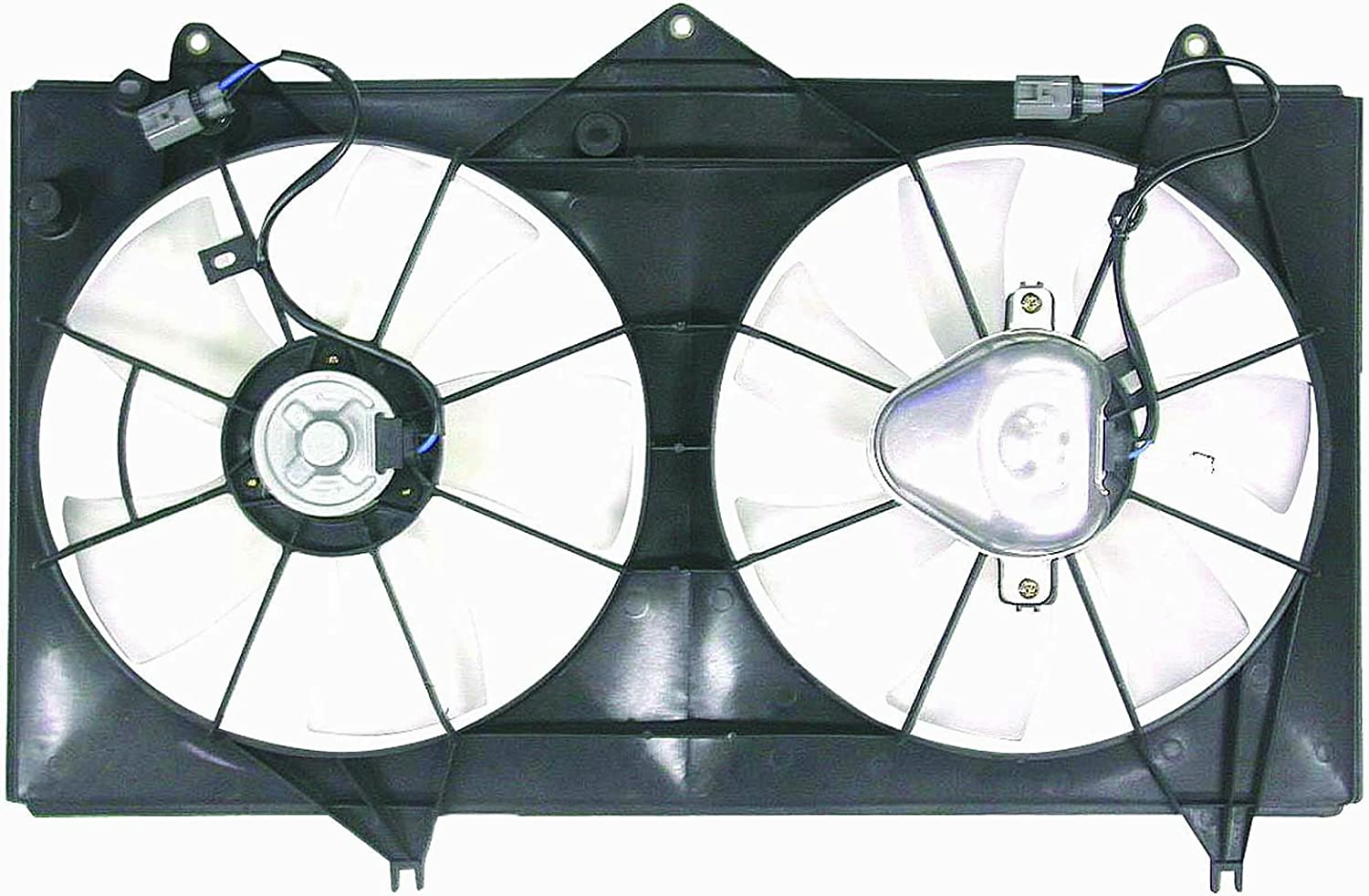 DEPO 312-55007-000 Replacement Engine Cooling Fan Assembly (This product is an aftermarket product. It is not created or sold by the OE car company)