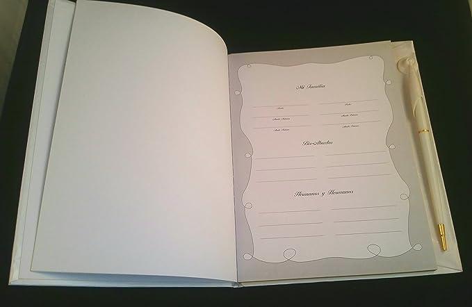 Amazon.com: Recuerdo De Mis Quince Años. Libro De Firmas,Invitados & Notas.: Toys & Games