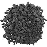 "American Fireglass Medium Black Lava Rock (1/2"" - 1"") 10 lb. Bag"