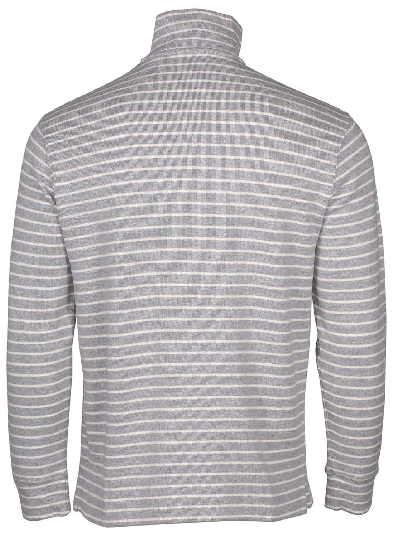 059dcf1045 Polo Ralph Lauren Men s Half Zip Ribbed Mock Neck Sweater ...