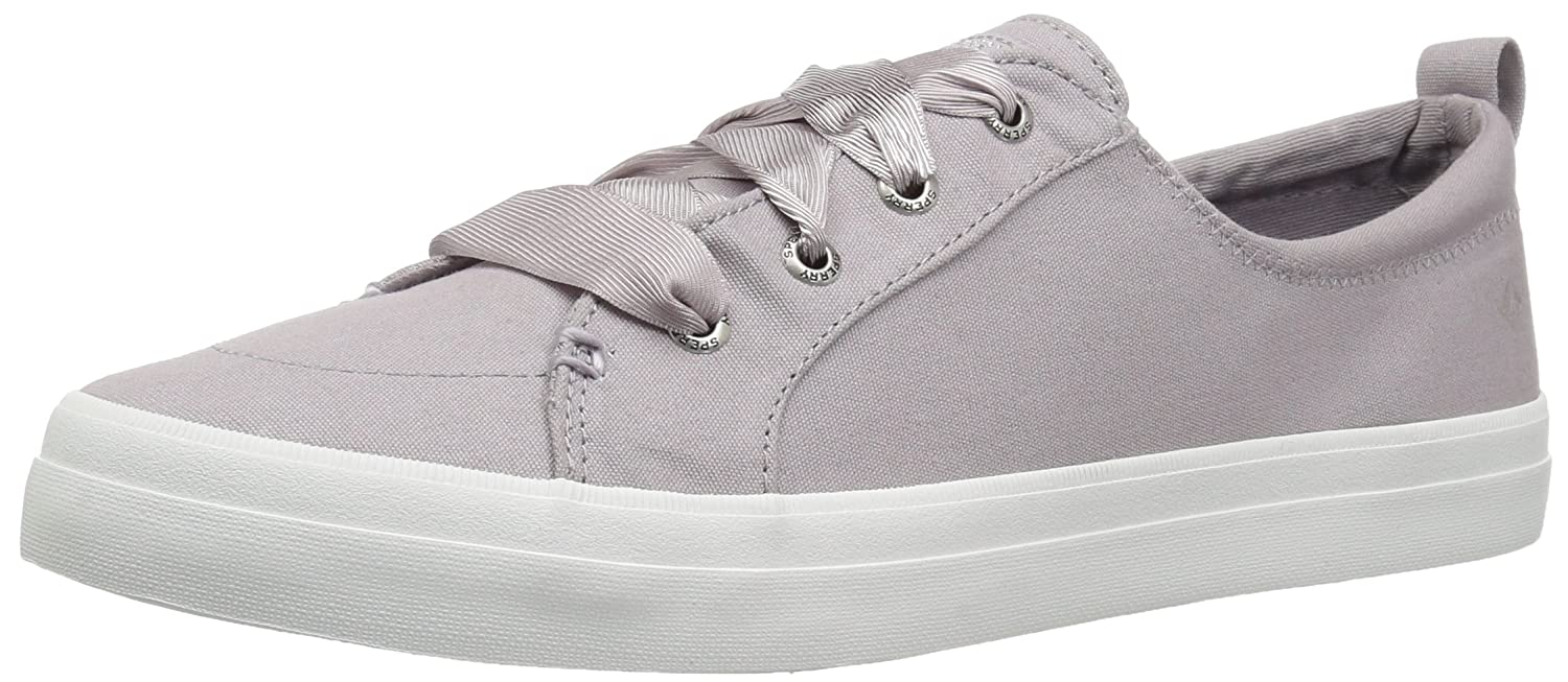Sperry Top-Sider Women's Crest Vibe Satin Lace Sneaker B076JNJJH5 M 075 Medium US|Light Purple