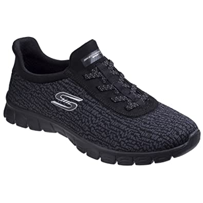 Skechers Womens/Ladies Microburst Supersonic Stretch Trainers Shoes ti9YA7SOSt