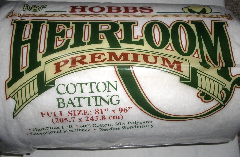 De plástico duro HL Heirloom algodón relleno de algodón  in x