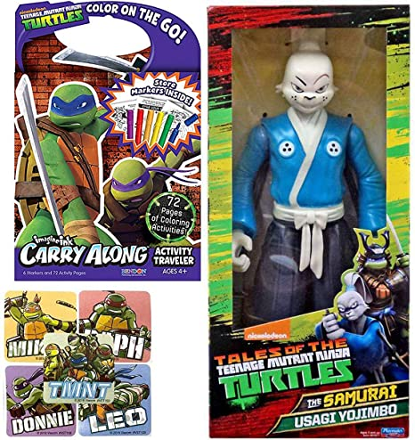Amazon Com Samurai Action Figure Tmnt Usagi Yojimbo Teenage Mutant
