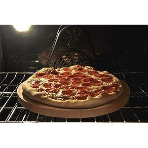 "Dough-Joe® Pizza and Baking Stone 14.5"" Round by 7/8"" Thick (USA)"