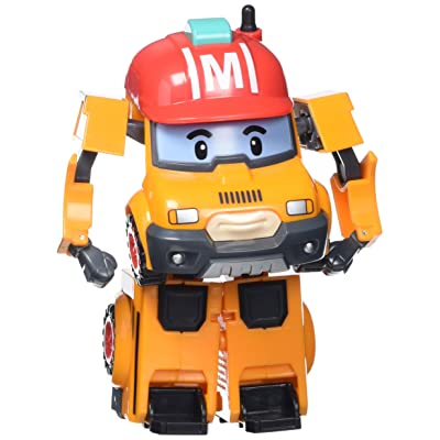 Robocar Poli - 83307 - Vehicle Transformable Mark - Orange: Toys & Games