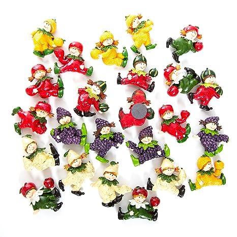 SALDI. 24 disegno della cucina magnete con frutta, dimensioni: 4 X 5 ...