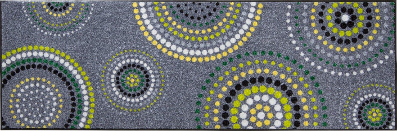 Erwin Müller Fußmatte grau grün grün grün Größe 80x200 cm 6f77f6