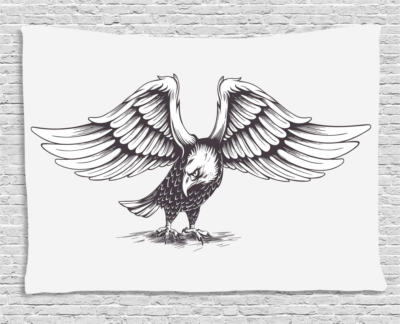 ABAKUHAUS Águila Tapiz de Pared, Libertad Símbolo De La Libertad ...
