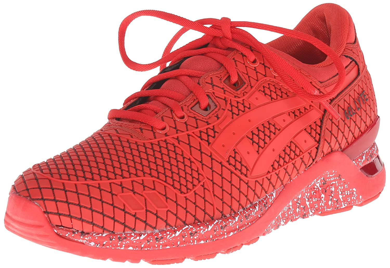 ASICS Men's Gel-Lyte Evo NT Retro Running Shoe B00UDDJ3AC 10 D(M) US|Red/Red