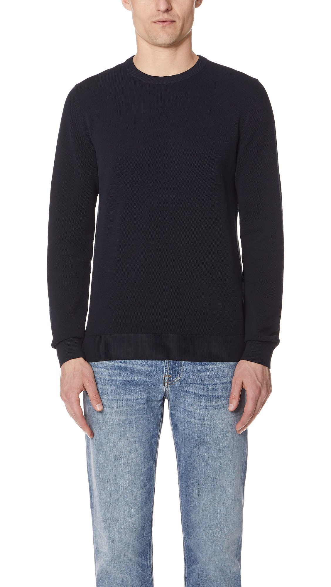 Theory Men's Riland Sweater, Eclipse, X-Small