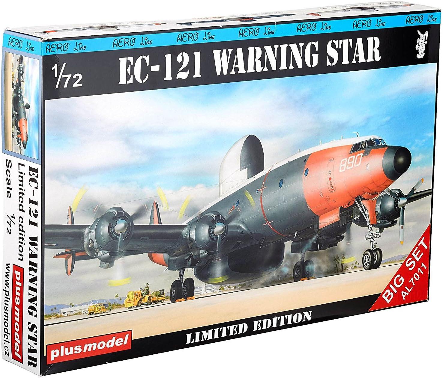 Plus model AL7011 EC-121 Warning Star Big set in 1:72
