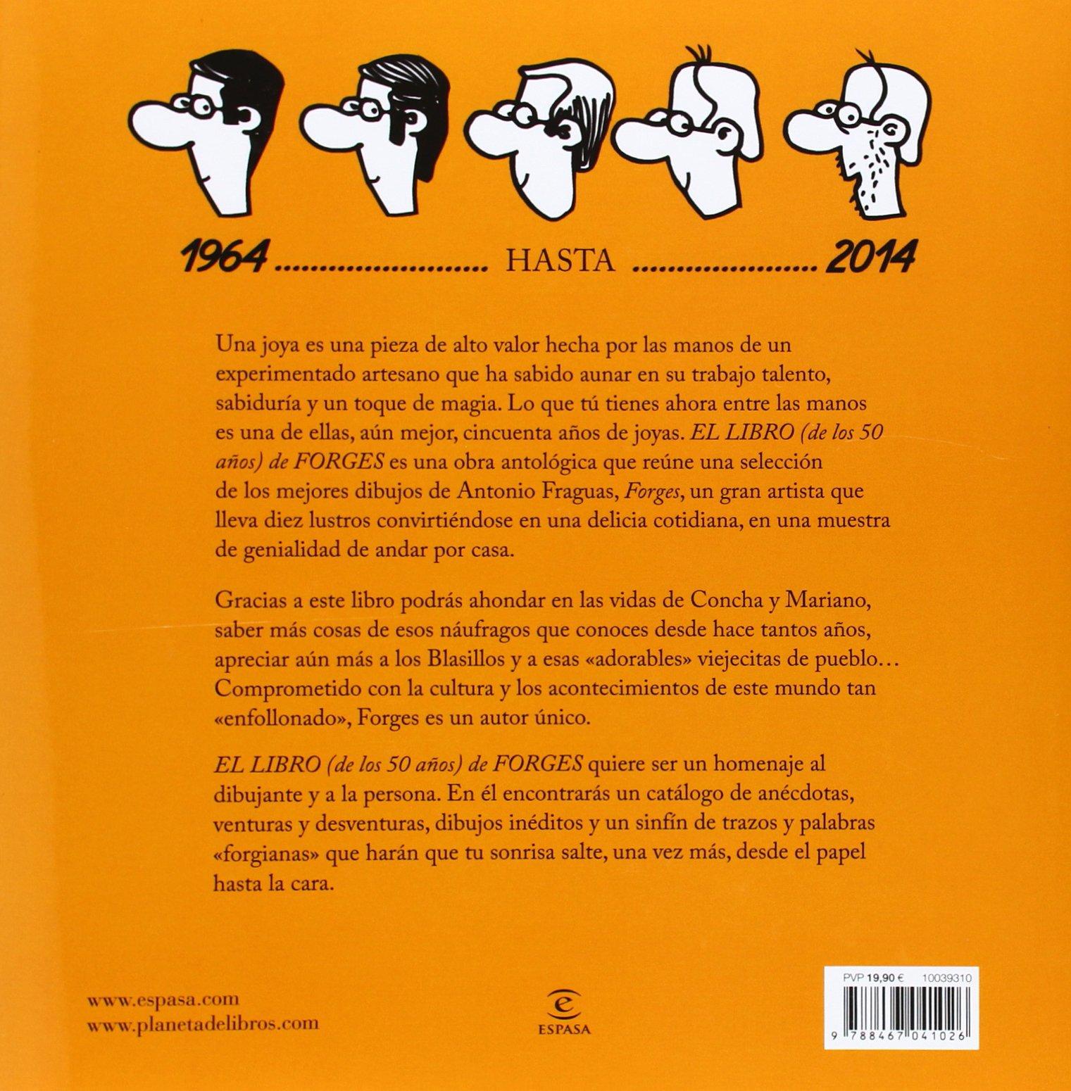 El libro de los 50 años de Forges Fuera de colección: Amazon.es ...