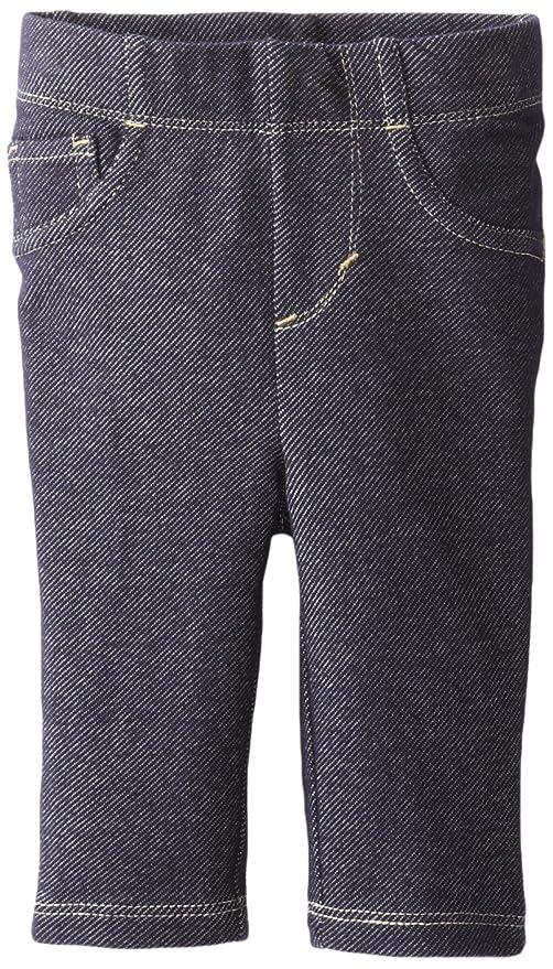 992061f24 Levi's Newborn Baby-Girls - 9527 Essential Knit Legging, Indigo, 6/9 ...
