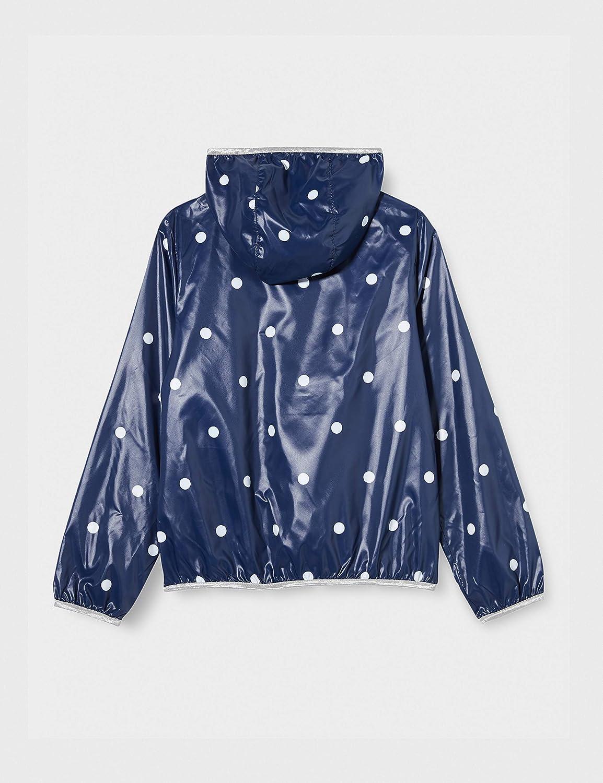para Ni/ñas Talla del Fabricante: Large Begonia Pink 65f Benetton Giubbino Abrigo Azul 134