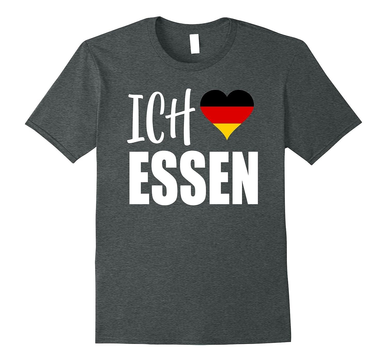Mens Klamottenpott Liebe German T Shirt-Samdetee