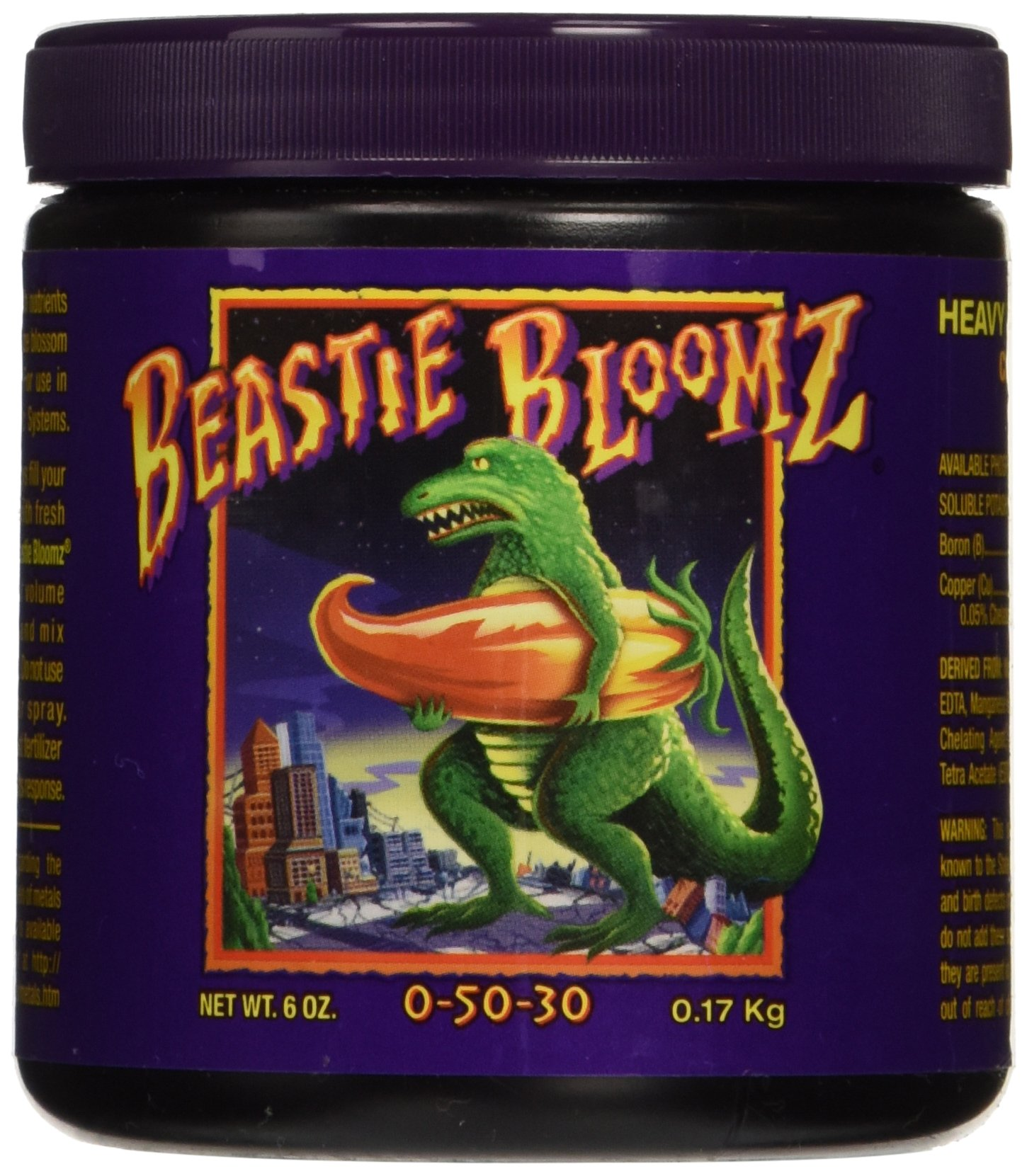 Fox Farm Beastie Bloomz, 6-Ounce