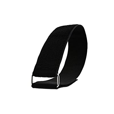 Heavy Duty Cinch Straps - Black (24 x 2 inch) 5 Pack