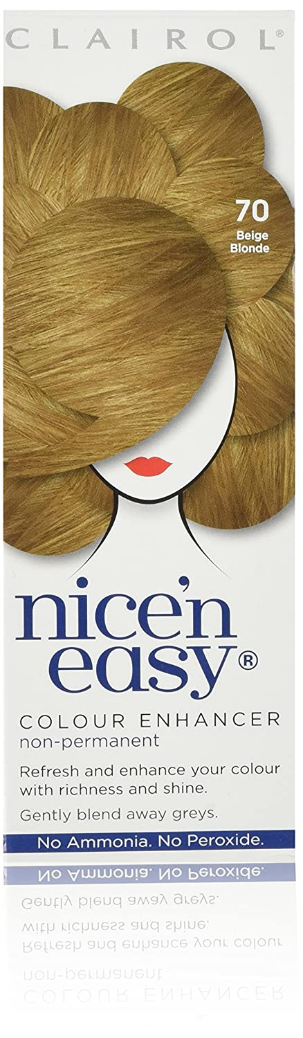 Clairol Nice 'n Easy 73 Medium Ash Blonde Non-Permanent Hair Colour Coty 81519771