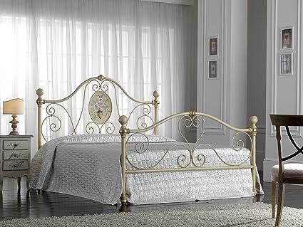 Camere Da Letto Matrimoniali In Ferro Battuto.Bed Store Letto Matrimoniale In Ferro Battuto Modello Caterina