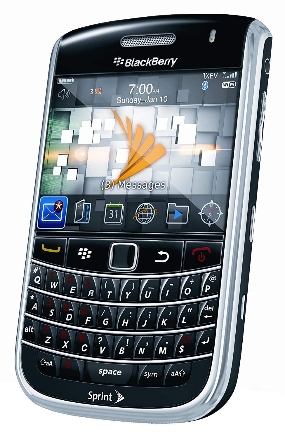 Amazon.com: BlackBerry Bold 9650 Phone, Black (Sprint): Cell Phones &  Accessories