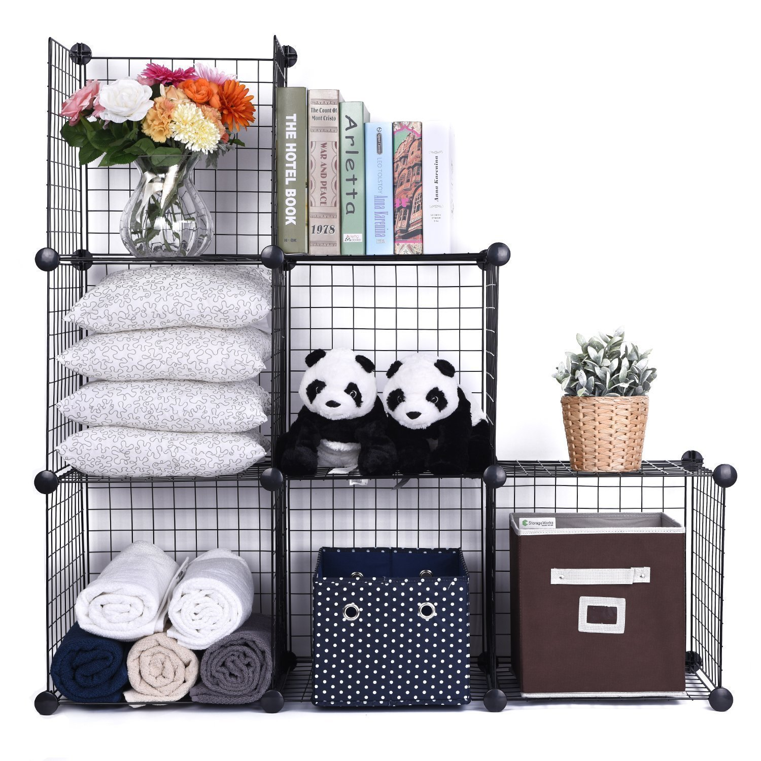 Famous Interlocking Wire Storage Cubes Photo - Electrical System ...