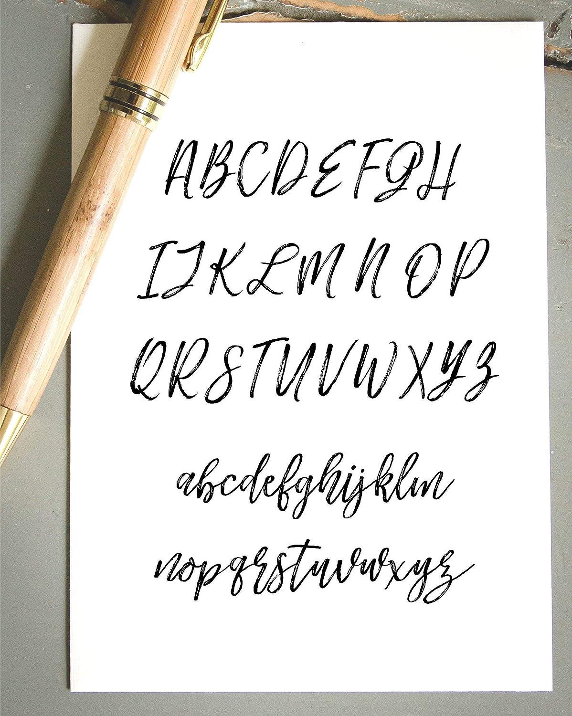Wedding Invitation Stamp Self-Inking Return Address Stamp Brush Calligraphy Font Save the Date Stamp Pre-Inked Custom Rubber Stamp