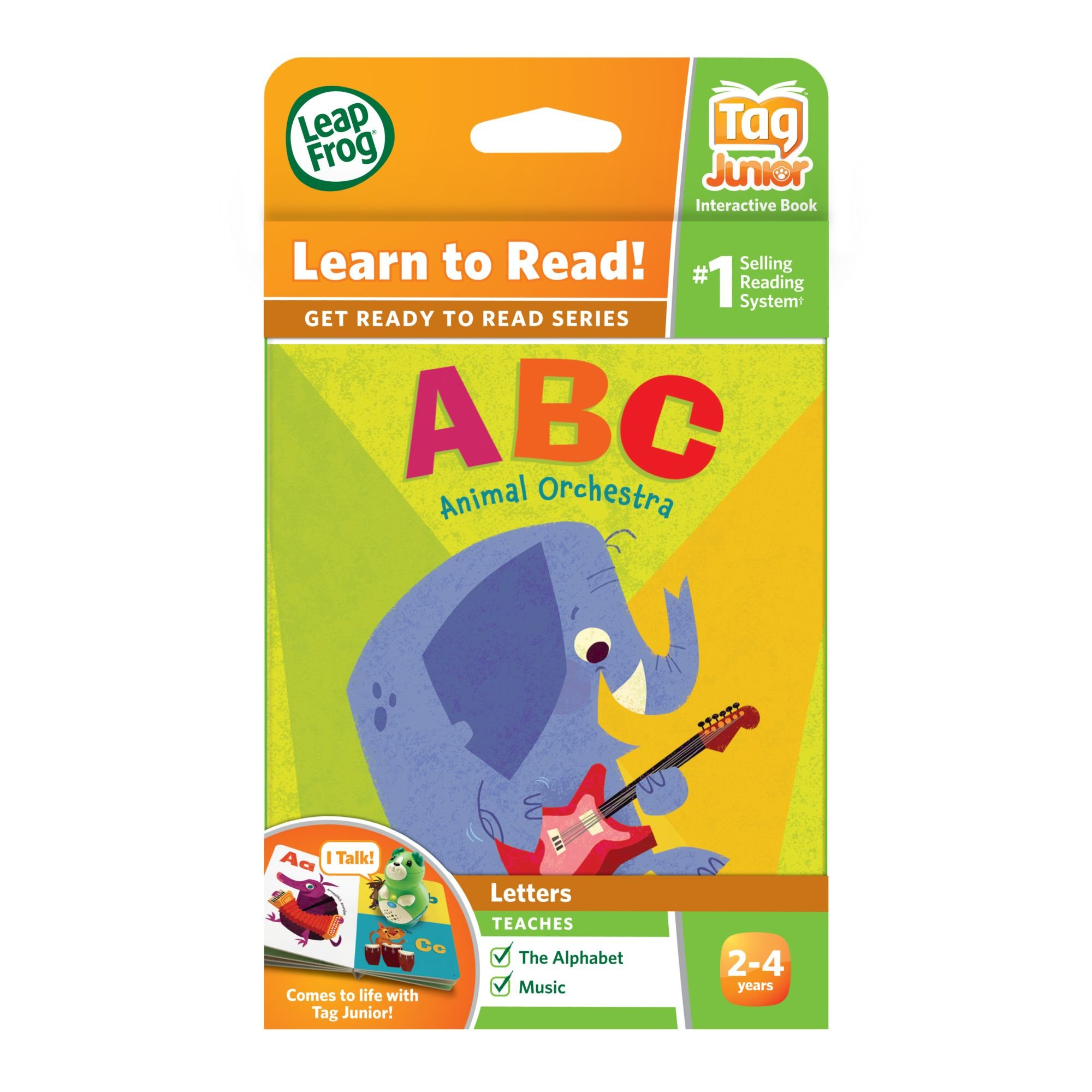 LeapFrog LeapReader Junior Book: ABC Animal Orchestra (works with Tag) by LeapFrog (Image #4)