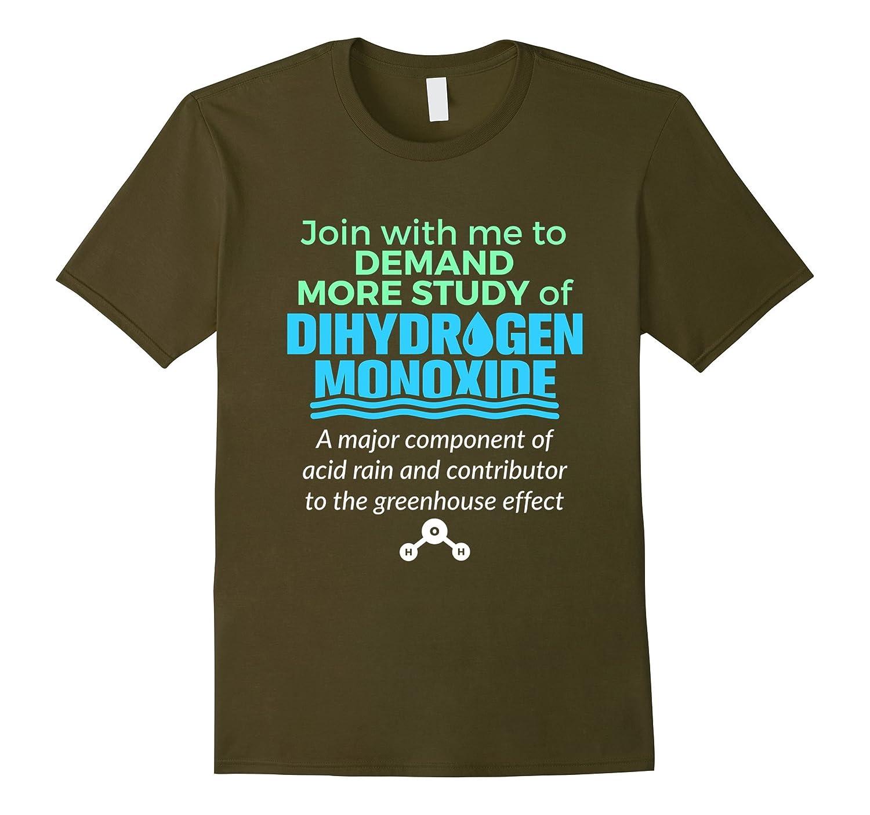April Fools Day Shirt -- More Study Of Dihydrogen Monoxide-RT