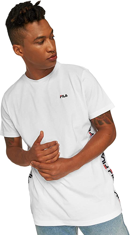 Fila Talan Camiseta Bright White: Amazon.es: Ropa y accesorios